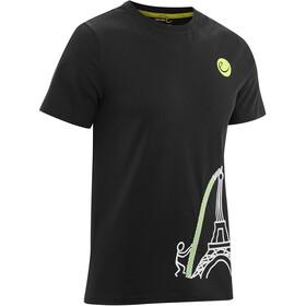 Edelrid Rope Camiseta Hombre, eiffeltower